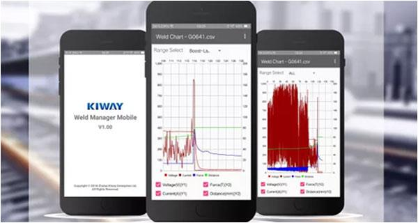 The Newly APP functions of Information system for Kiway Welding Machine will make an appearance in N